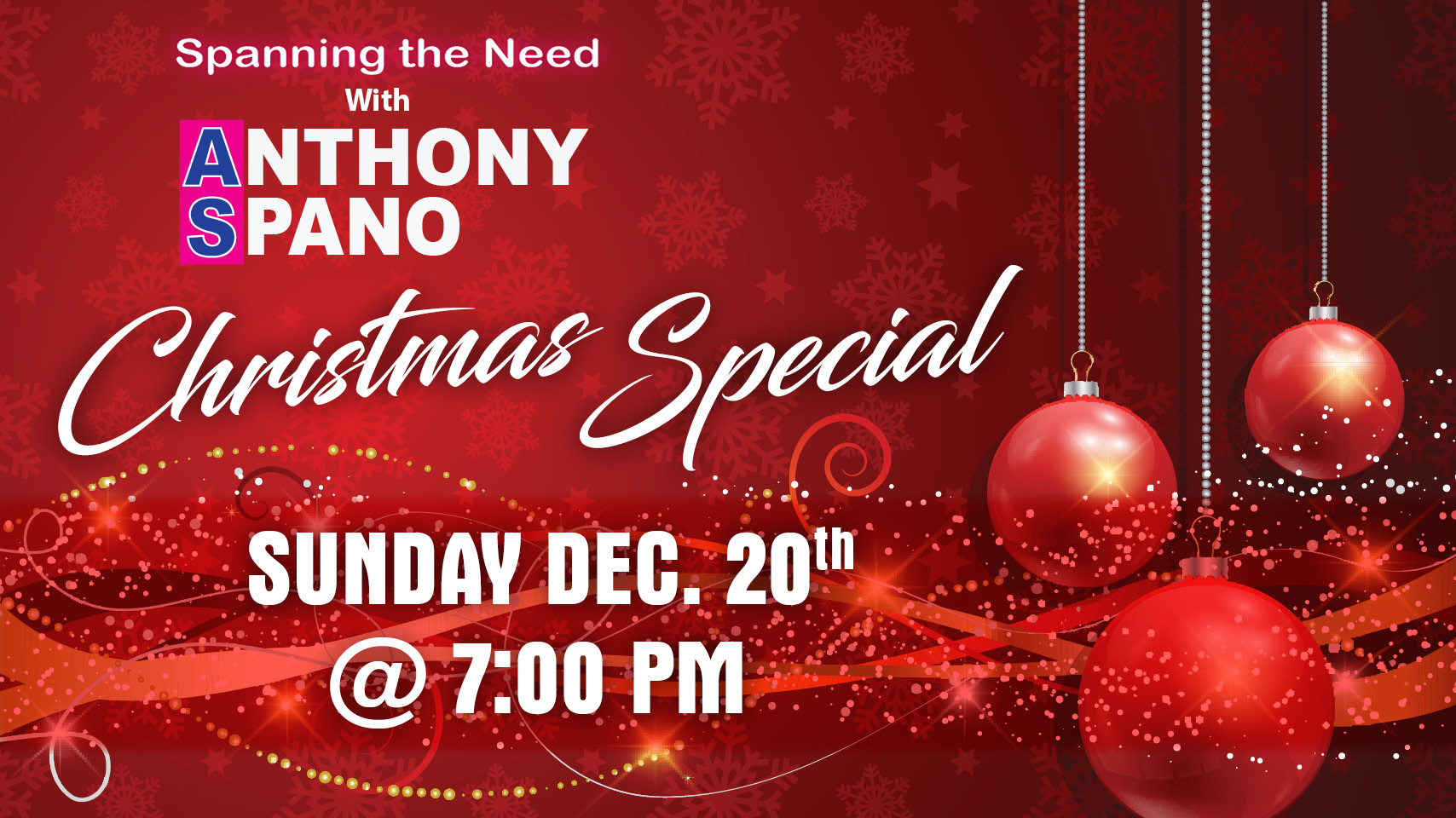 Spano brings together local performers for virtual Christmas concert