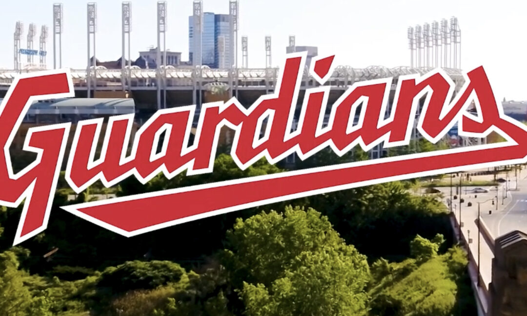 """The Cleveland Indians have now changed their name to the """"Guardians"""""""