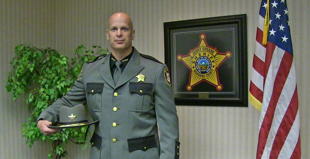 Sheriff Greene Selected To Receive Award For Aid Given To Drug Users back in October 2020