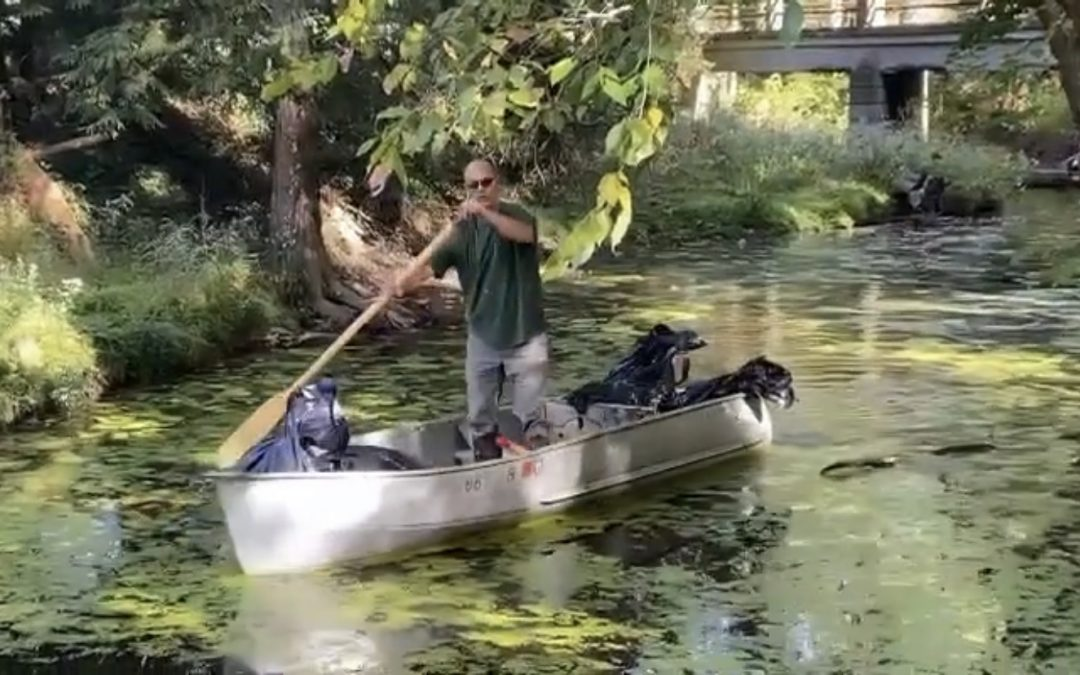 Group Cleans-up Enormous Amount of Trash Along Creek in Trumbull County